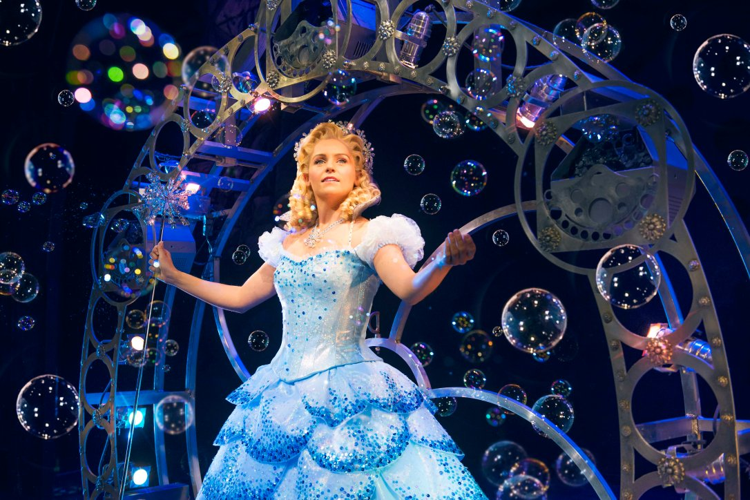 Glinda in WICKED