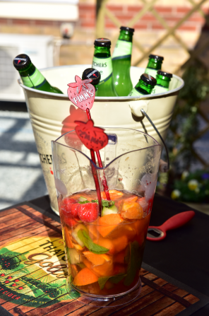 bucket of pimms