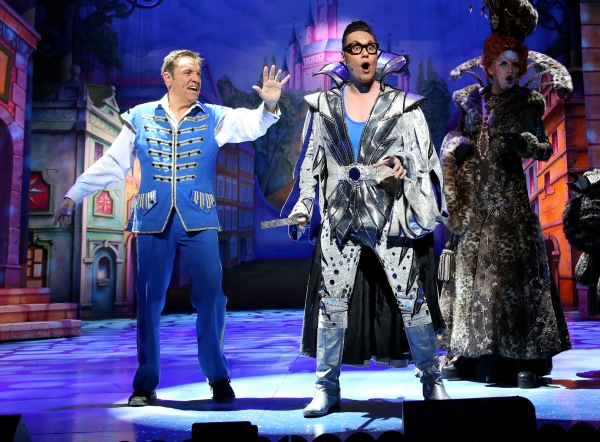 Cinderella starring Brian Conley, Gok Wan and Lauren Hall