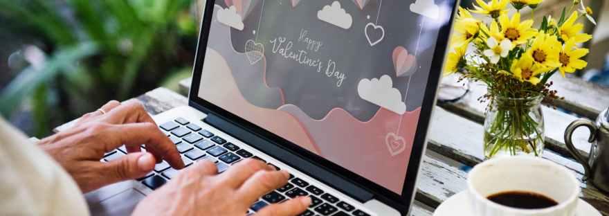 valentines computer